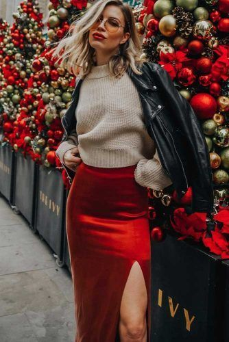 Cute Christmas outfit ideas for girls