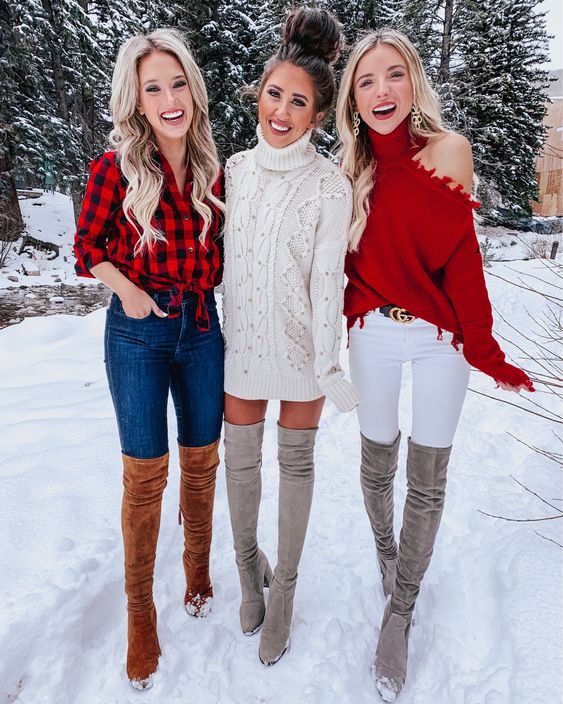 Nice casual Christmas outfit ideas