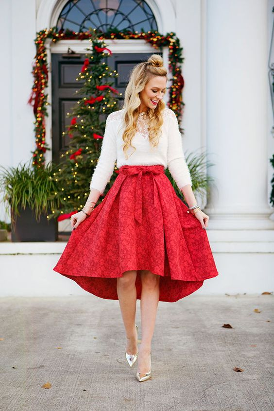 Cute Christmas party outfits for women