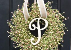 50+ elegant spring front door wreaths that you have to see