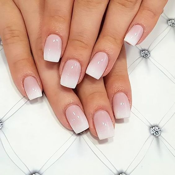 French manicure ombre nails