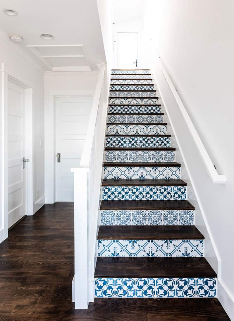 traditional coastal stairs