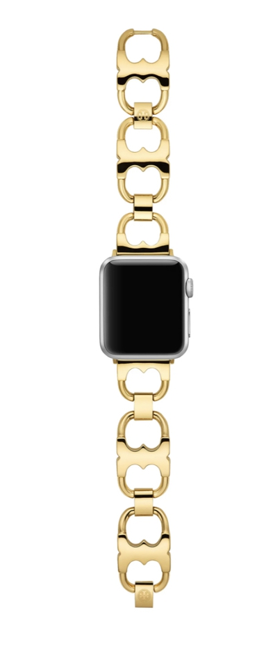 The best luxury gifts for women with everything: Gold Apple watch straps