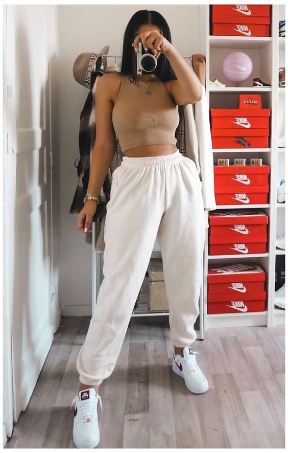 Cute clothes with joggers
