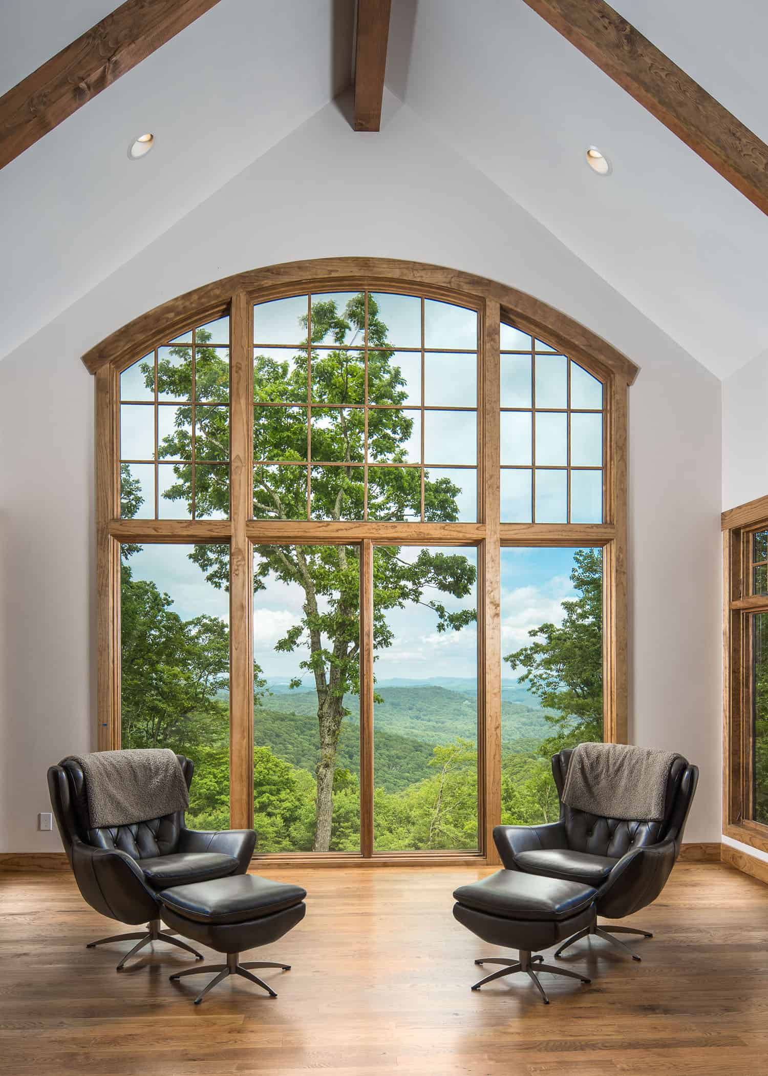 Mountain style living room
