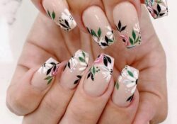 30+ cute flower nail designs perfect for spring and summer
