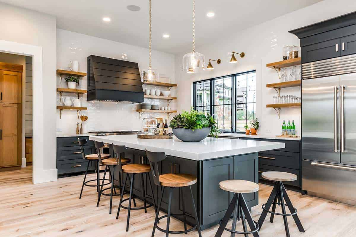 urban country style kitchen