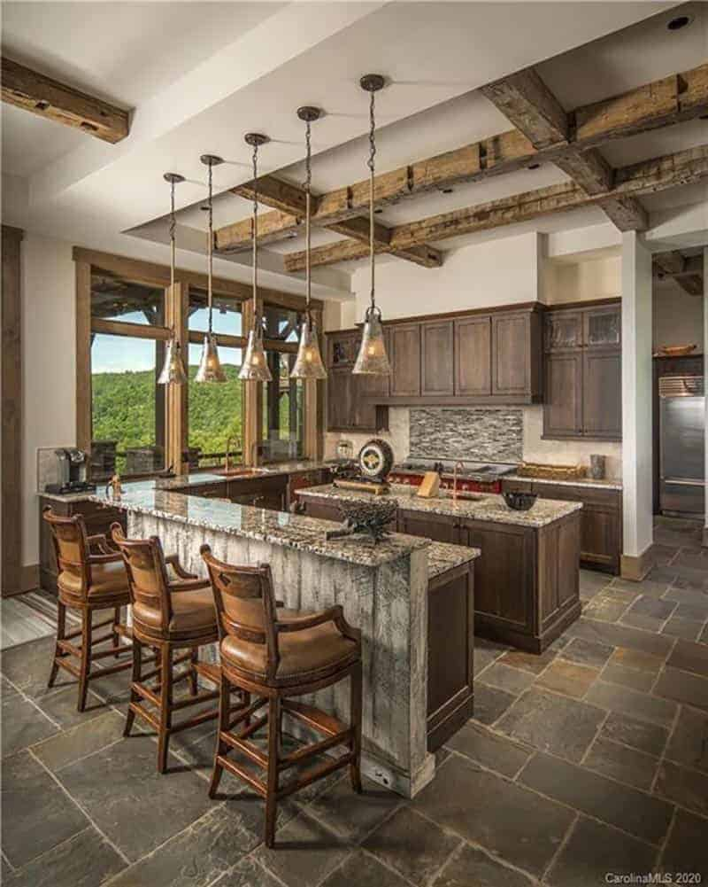Mountain modern kitchen