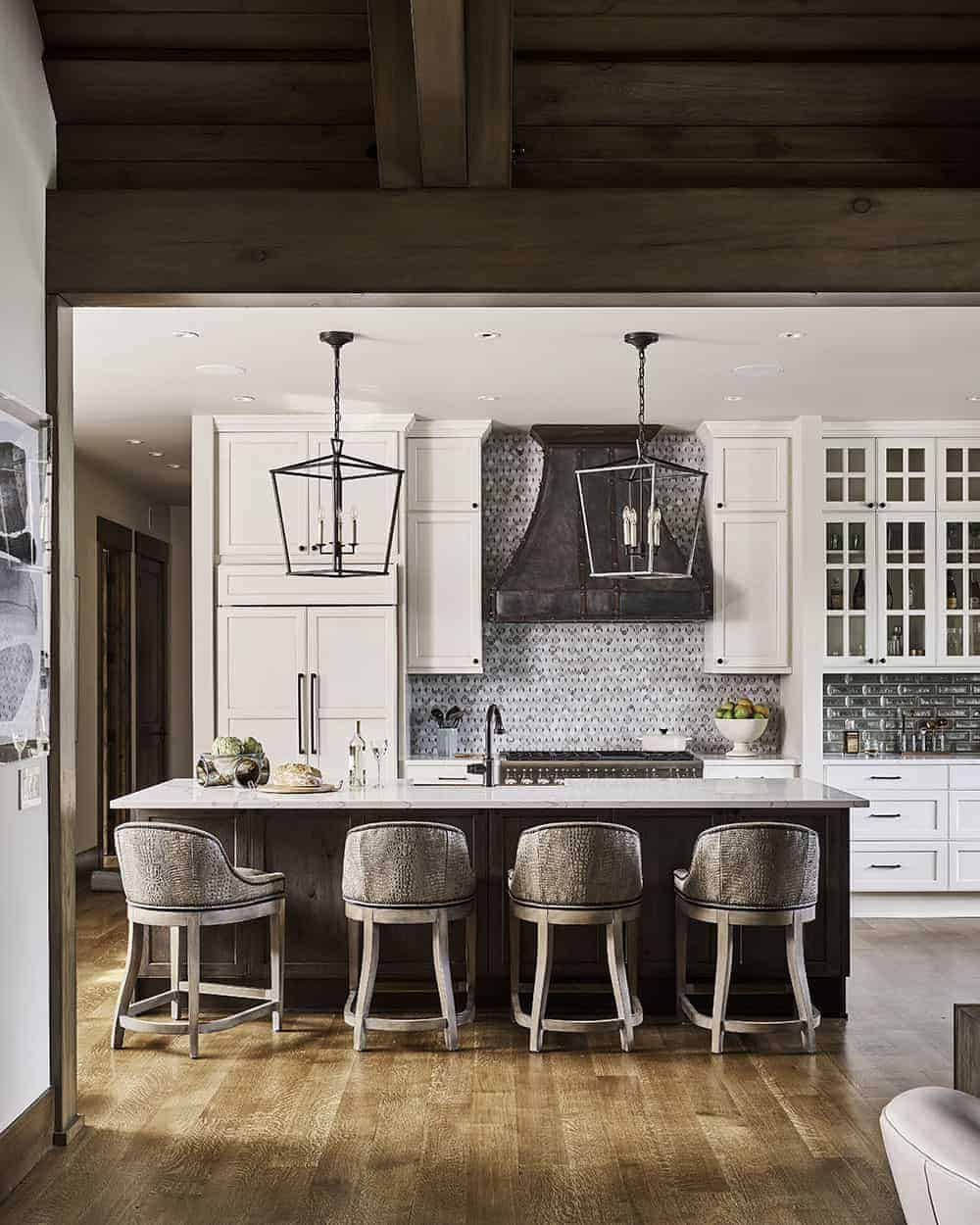 Wine country style kitchen