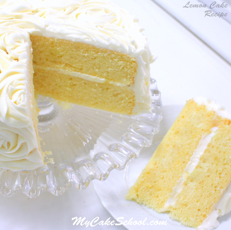Scratch Lemon Cake