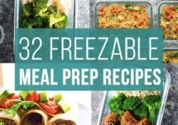 32 Freezer-friendly recipes for preparing food