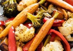 SIMPLY Oven Fried Vegetables - I Heart Naptime