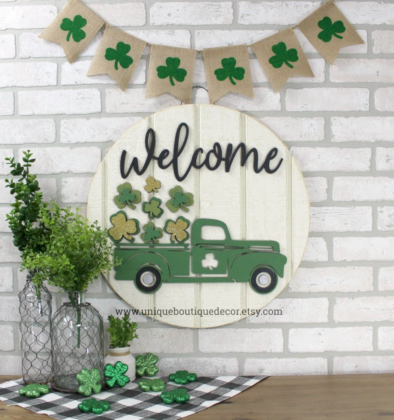 St. Patrick & # 39; s Day decorations - wooden sign
