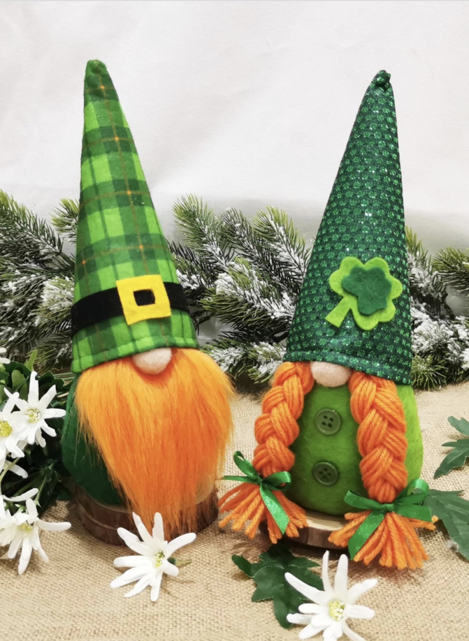 Decoration ideas for St. Patrick & # 39; s Day - gnomes