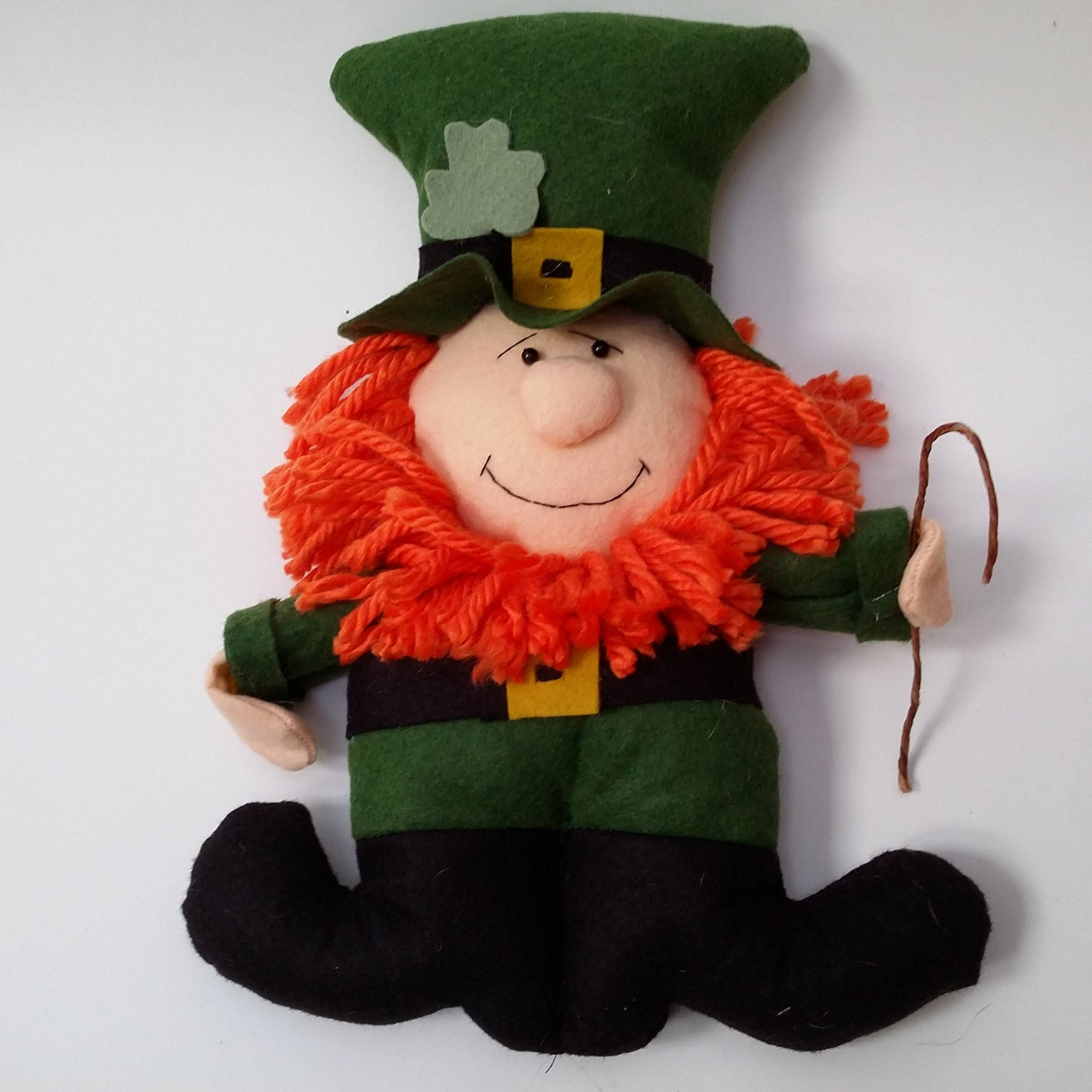 Decoration ideas for St. Patrick & # 39; s Day - Leprechaun plush toy
