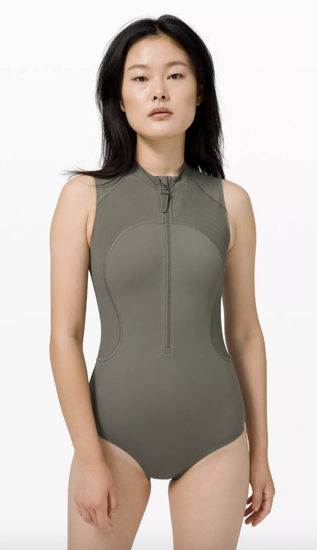 Cute one-piece swimsuits to cover up pimples