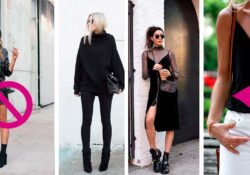 10 tips for wearing black and getting the most out of your body