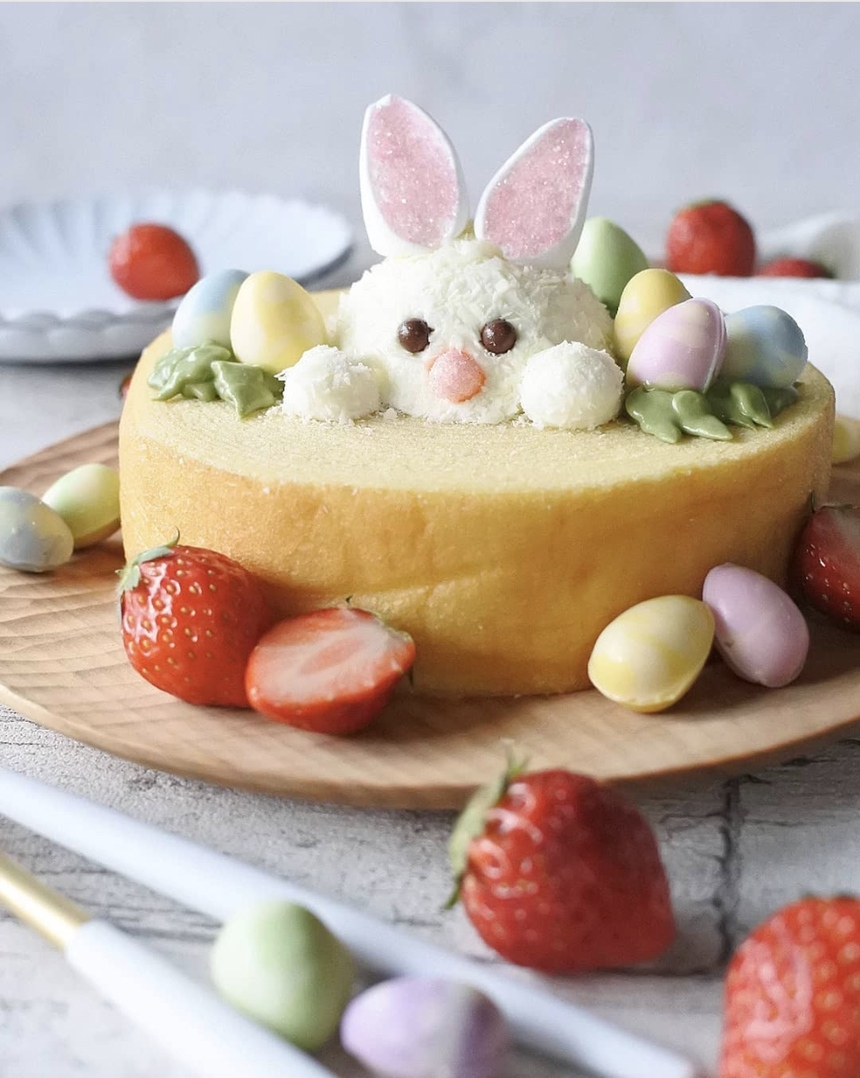 Simple ideas and recipes for the Easter brunch: Bunny Cake