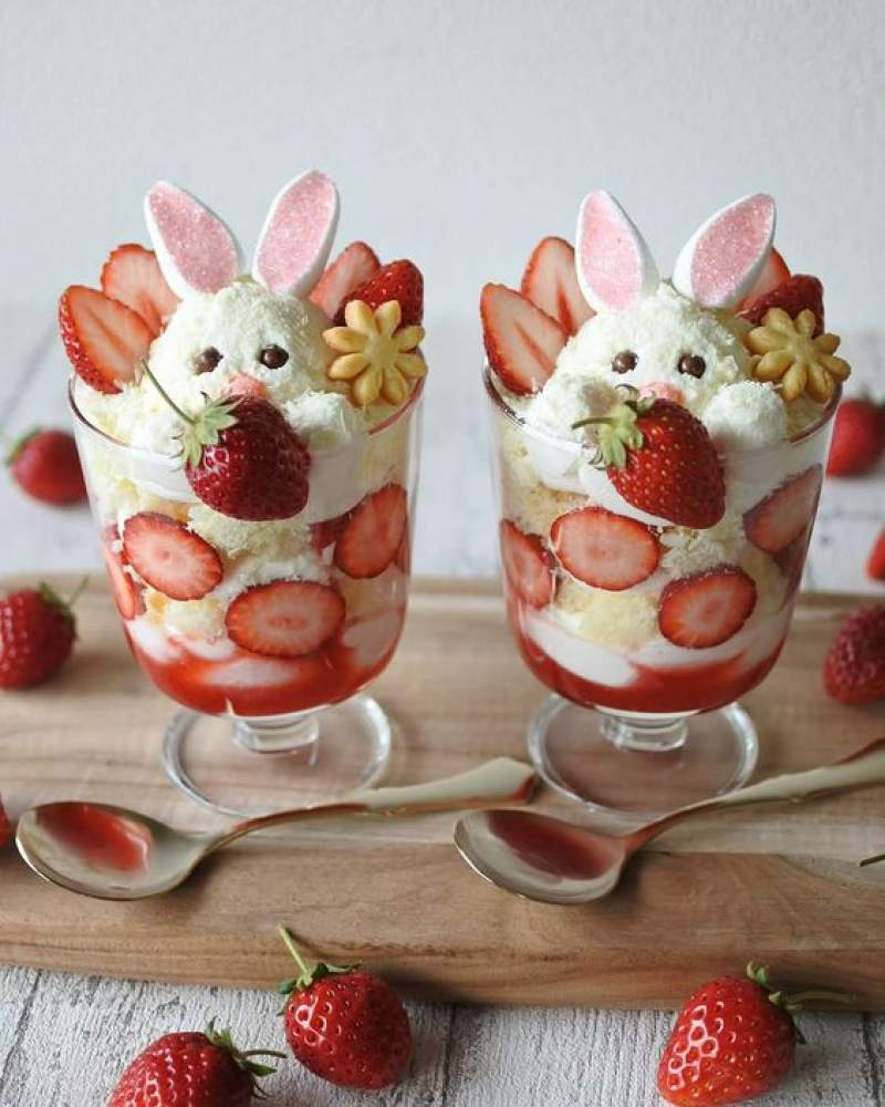 Simple ideas and recipes for the Easter brunch: The Easter Trifle