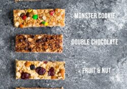 Perfect Perfect homemade granola bars (+7 flavors!)