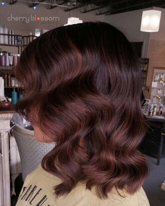 Nice brown hair color idea