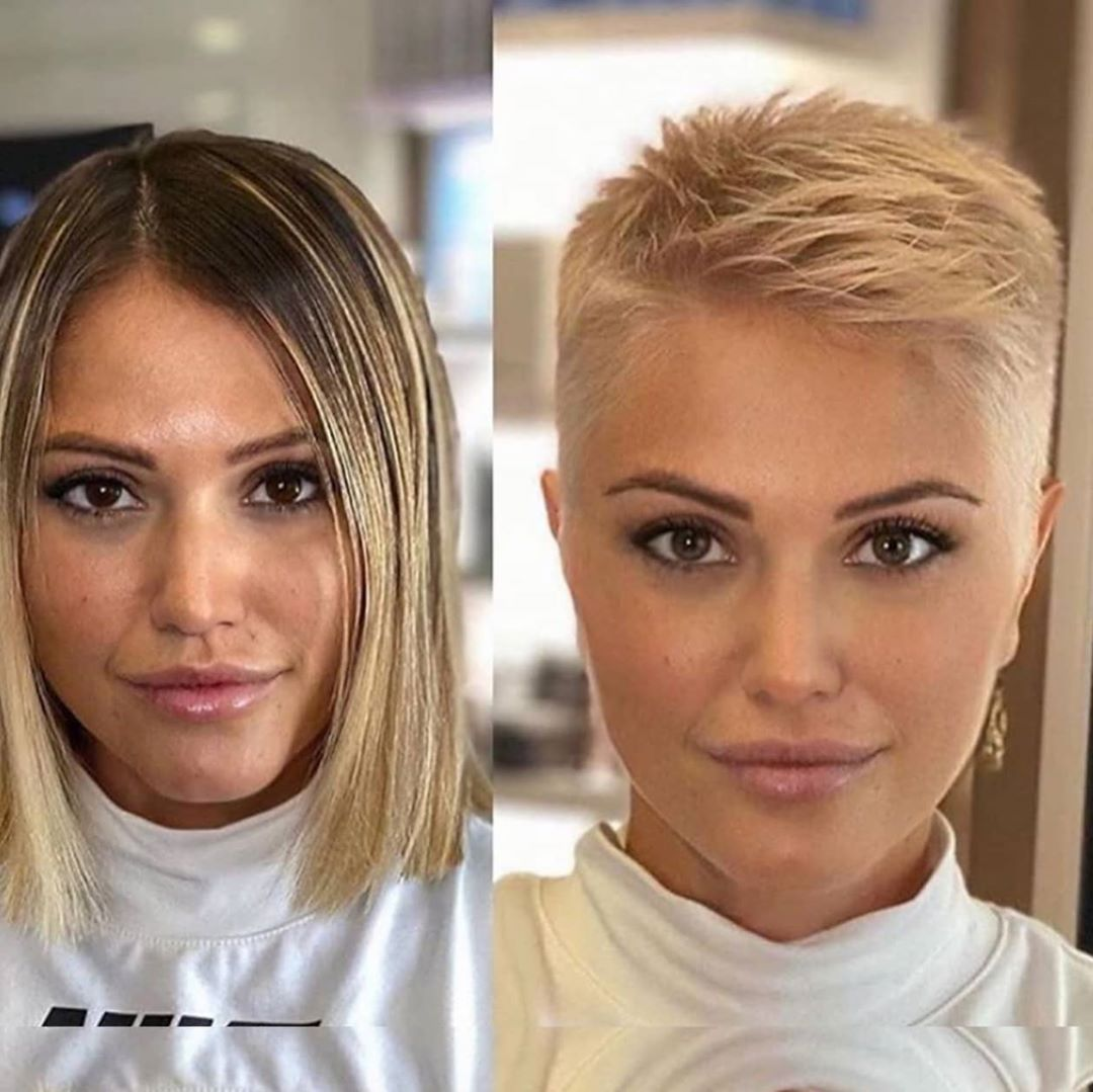 Stylish short haircuts for thick hair - women's short hairstyles on trend in 2021