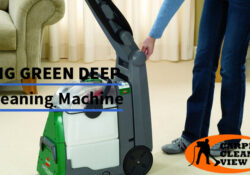 Bissell Big Green Deep Cleaning Professional Carpet Cleaning Machine Review