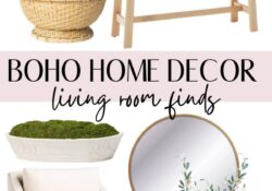 Best boho home decor ideas to freshen up your space