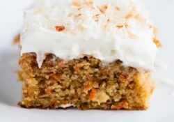 EASY Carrot Cake Recipe (One Bowl)