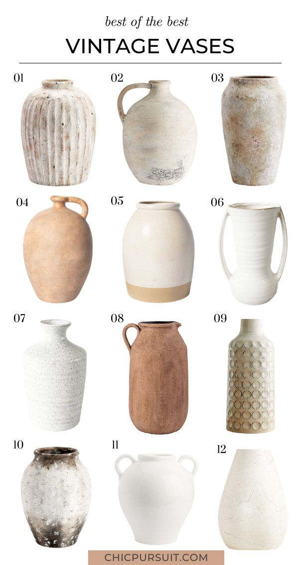 The cheapest old vases