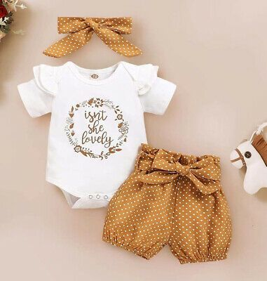 Cute summer clothes for little girls - newborns and toddlers