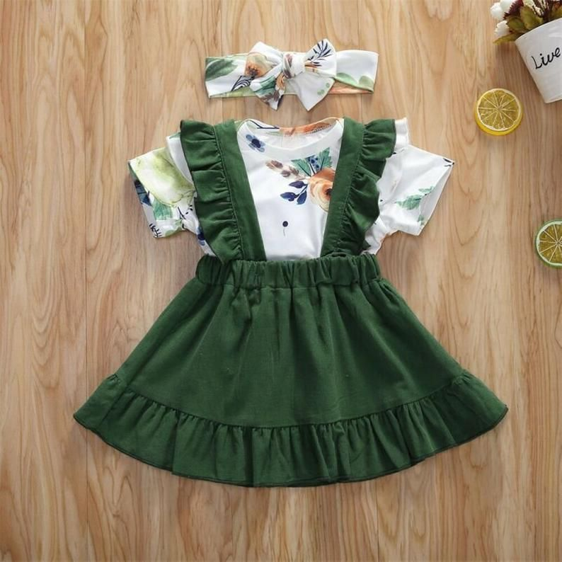 Sweet summer dresses for newborns and toddlers