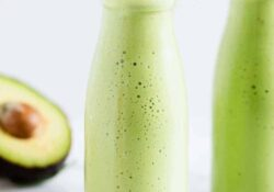 Creamy Avocado Smoothie (5 Ingredients!)