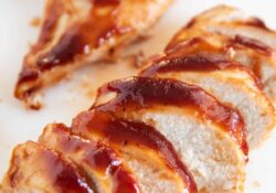2-Ingredient Baked Barbecue Chicken - I Heart Naptime