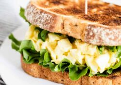 Egg salad sandwich - I heart lunchtime
