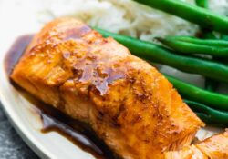 Pickled balsamic salmon (3 ingredients!)