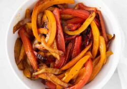 SIMPLE Fajita Vegetables - I Heart Naptime