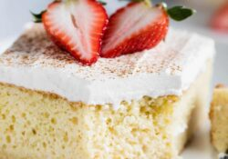 SIMPLY Tres Leches cake recipe