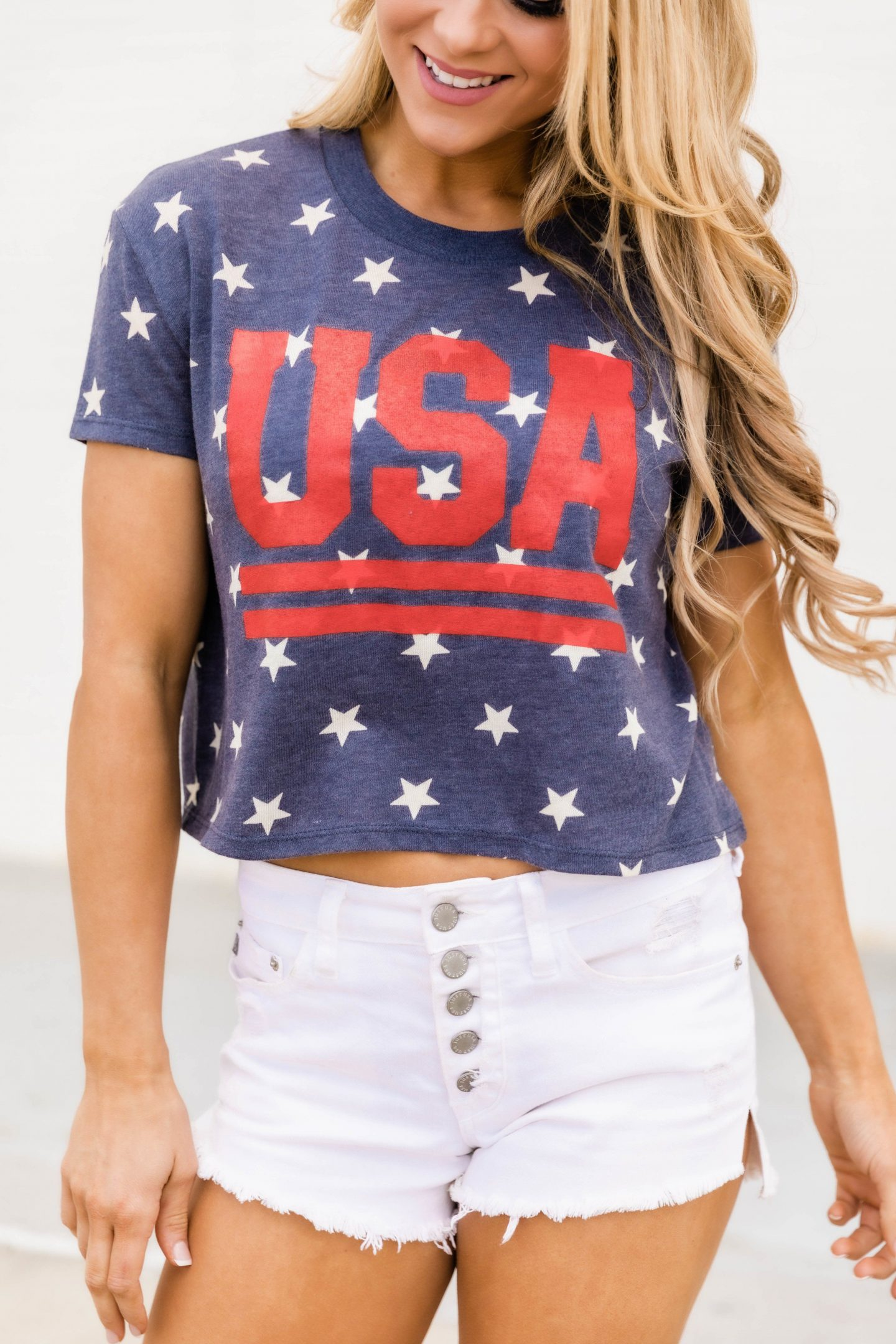 USA T-Shirt - cute July 4th outfit