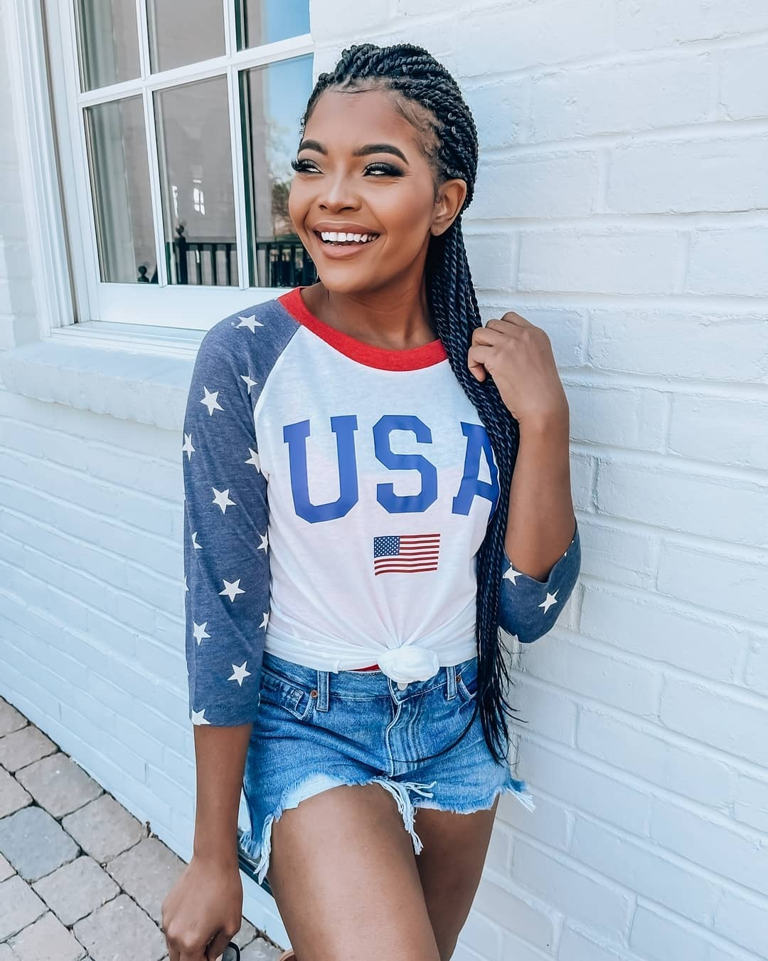 Cute and comfy outfit from July 4th