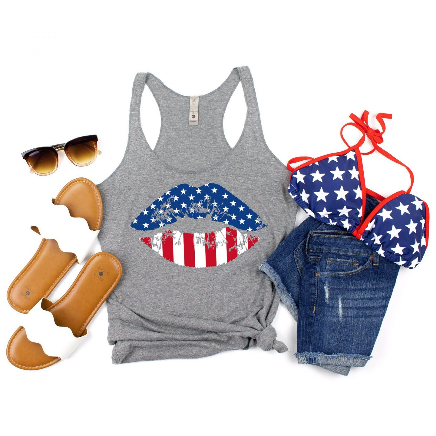 July 4th casual outfit