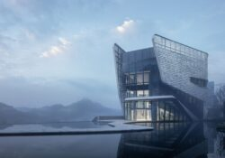 Park Reception Hall of LUXERIVERS by MOD Architecture in Chongqing, China