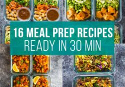 30-minute recipes for preparing food