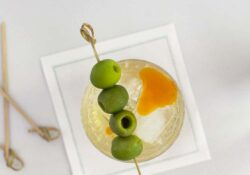 Dirty Martini with Tequila Recipe