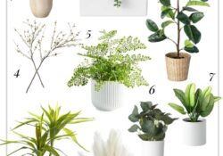 Top 10 fake plants to decorate your home and make it cozy