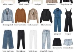 This is how you build the perfect capsule wardrobe for the whole year