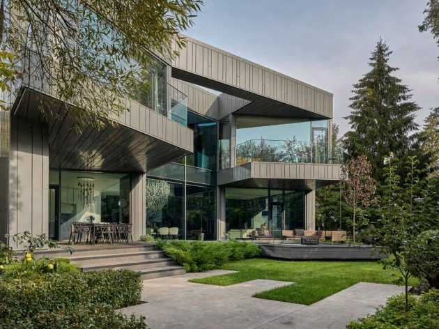 Silver Pine Residence by SAOTA, Moscow, Russia
