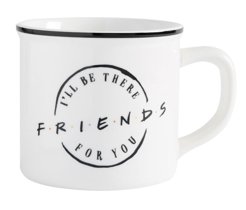 Affordable gifts every girl would want from her boyfriend: Friends classic logo mug
