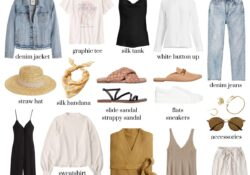 How to create the perfect neutral summer capsule wardrobe