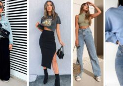 10 outfits with waists to look taller